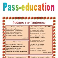 Automne Poèmes Lecture Poésie 2eme 3eme 4eme 5eme Primaire
