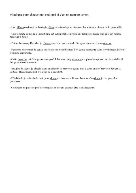 exercice adjectif verbale ou participe present pdf