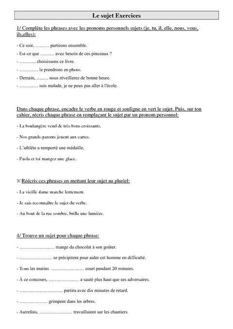 Célèbre Exercice De FrançAis Ce2 MG73 | Jornalagora TA02