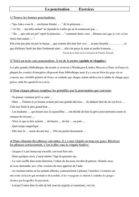 Znaki interpunkcyjne - ćwiczenie 8 - Francuski przy kawie