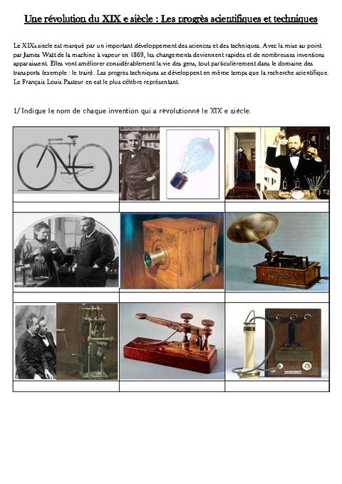 dissertation progres scientifiques techniques Lisez ce histoire et géographie documents gratuits et plus de 191 000 autres dissertation progrès scientifiques progrès technique et scientifique les sciences et.