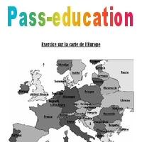 Carte De Leurope Pour Ce2.Carte De L Europe Cm1 Cm2 Exercices Pass Education