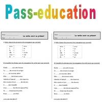 Verbe avoir au présent - Ce1 - Exercices - Conjugaison - Pass Education