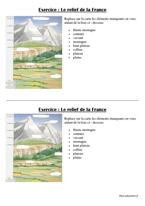 Exercices Ce Villes De France