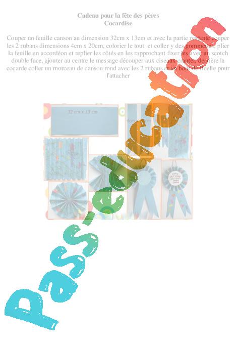 cadeau pour la f te des p res arts plastiques ce2 cm1. Black Bedroom Furniture Sets. Home Design Ideas