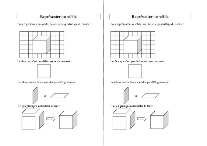 Solides - Ce2 Cm1 Cm2 - Leçon - Pass Education