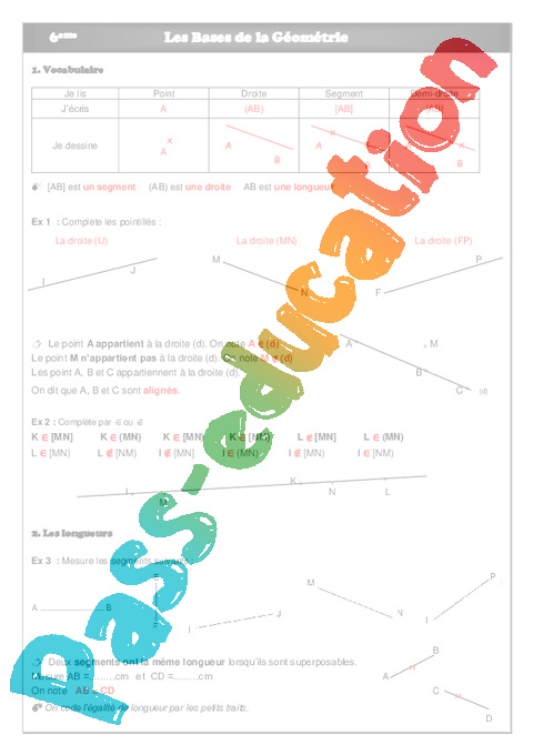 mathematique pour informatique college en pdf c ours et exercices