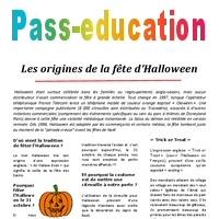 Halloween Les Origines Lecture Compréhension Cycle 3