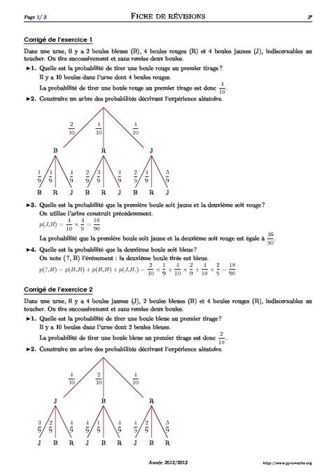 Exercices corrig s math matiques seconde pdf t score - Exercice corrige de table de karnaugh pdf ...