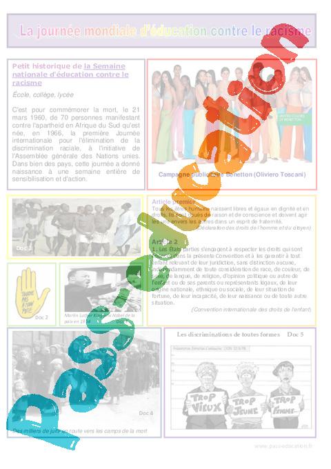 Education et instruction civiques cycle 3 ouvrage papier fiche.