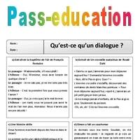 Qu Est Ce Qu Un Dialogue Ce2 Texte Theatrale Lecture Cycle 3