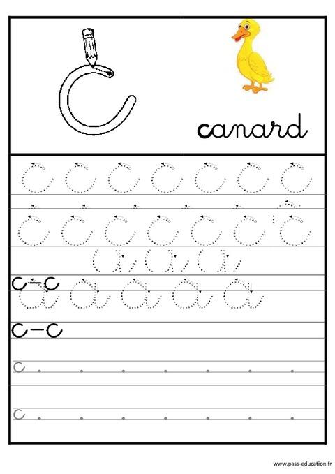 Connu Lettres de l'alphabet en cursive - Ecriture - Maternelle – Grande  FT91
