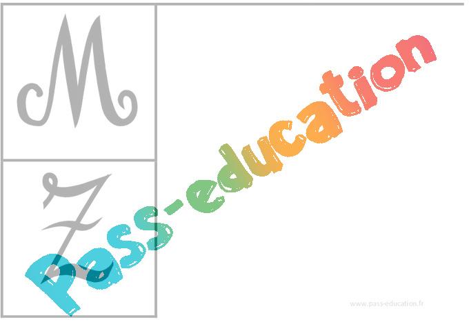 Coloriage Alphabet Ms.Alphabets Affichages Pour La Classe Maternelle Ps Ms