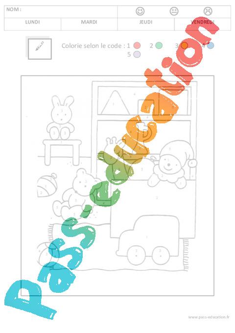 coloriage magique 1 2 3 4 5 u2013 maternelle u2013 petite section