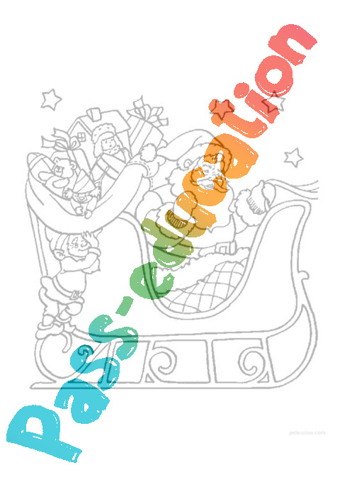 Coloriages Noel Maternelle Petite Section Moyenne Section