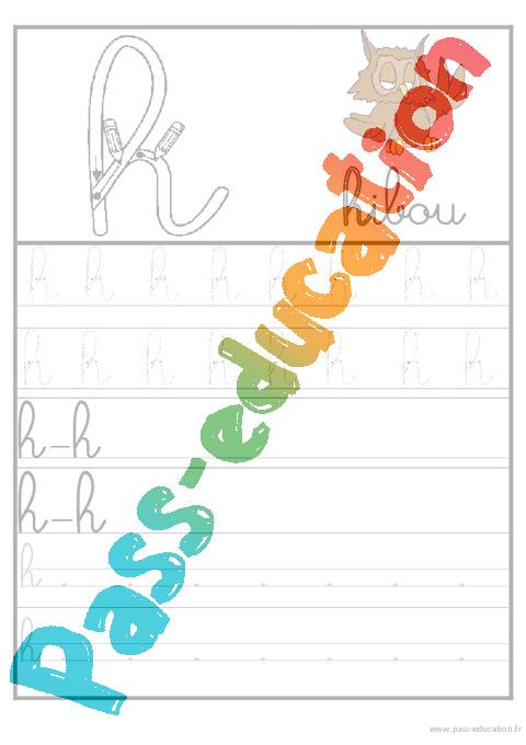 lettres de l 39 alphabet en cursive ecriture maternelle grande section gs cycle 2 pass. Black Bedroom Furniture Sets. Home Design Ideas