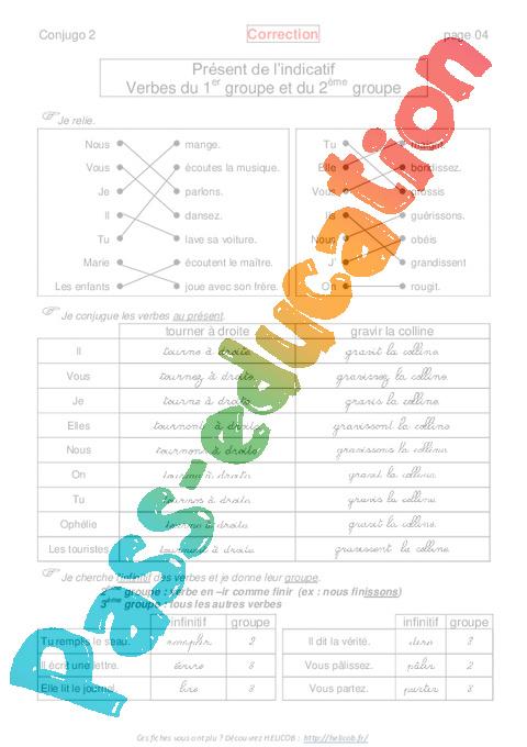 présent conjugaison espagnol