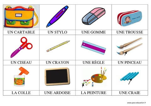 Mat Scolaire Imagier Maternelle Grande Section Gs Cycle Page Imagiers Fiches Pour Apprendre Vocabulaire