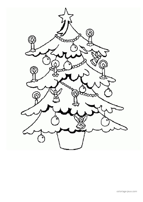 Coloriages - Noël - Maternelle - Grande section - GS - Cycle 2 - Pass Education