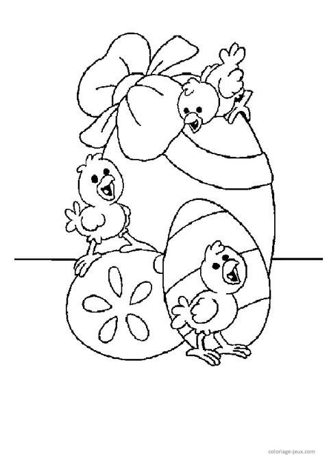 Coloriages p ques maternelle grande section gs cycle 2 pass education - Coloriage grande section ...