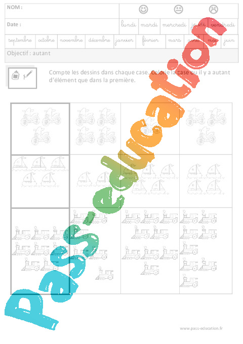 prepa math grande section maternelle cycle 2 numero 2 cahier dexercices
