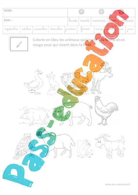 Coloriage Magique Ferme Gs.Coloriage Magique Code Logique Maternelle Grande Section