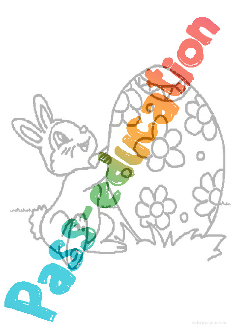 Coloriage Paques Gs.Coloriages Paques Maternelle Grande Section Gs Cycle 2