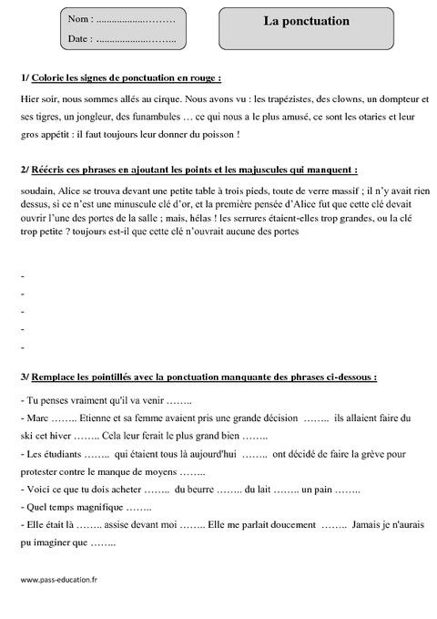 Znaki interpunkcyjne - ćwiczenie 4 - Francuski przy kawie
