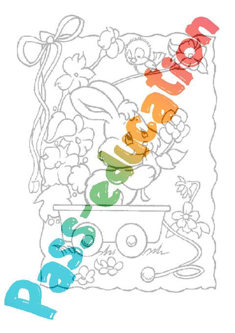 Coloriage De Paques Cycle 2.Coloriages De Paques Cycle 2 Cycle 3 Vie De La Classe Pass