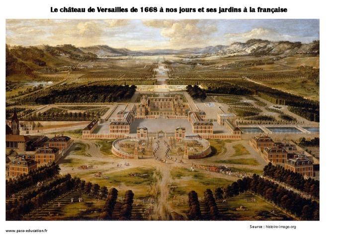 Architecture royale les ch teaux cm1 cm2 arts de l 39 espace histoire des arts temps - Histoire des arts les jardins de versailles ...