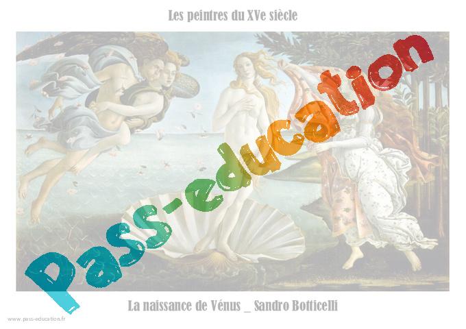l u00e9onard de vinci xve  u2013 peintres de la renaissance - cm1  u2013 cm2  u2013 arts du visuel