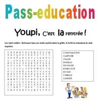Jeux éducatifs - Rentrée - CE1 - Cycle 2 - Pass Education