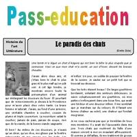 Le Paradis Des Chats Emile Zola Arts Du Langage Xixe Siecle