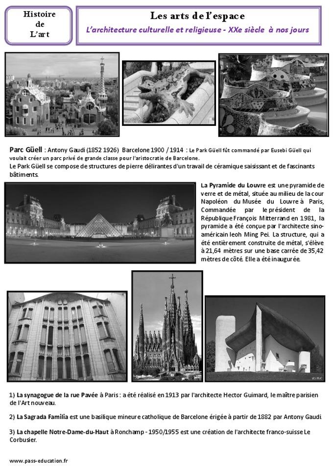 Architecture culturelle et religieuse du xxe nos jours for Architecture 20eme siecle