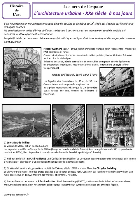 Architecture urbaine du xxe nos jours arts de l 39 espace - L histoire de l architecture ...