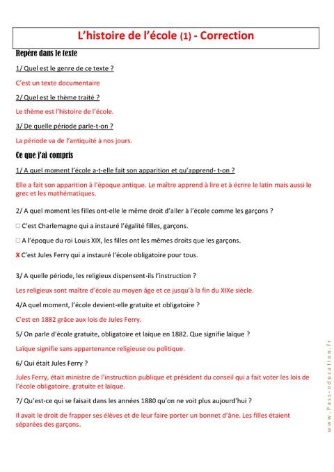 L 39 histoire de l 39 cole ce2 cm1 cm2 lecture - L histoire de l architecture ...