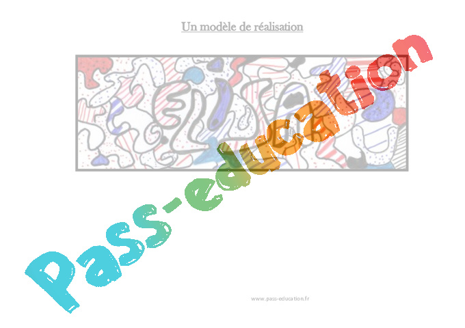 Très Mon prénom à la manière de Jean Dubuffet – Arts plastiques - Ce2  AW94