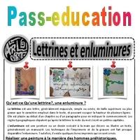 Lettrines Et Enluminures Ce1 Ce2 Cm1 Cm2 Arts