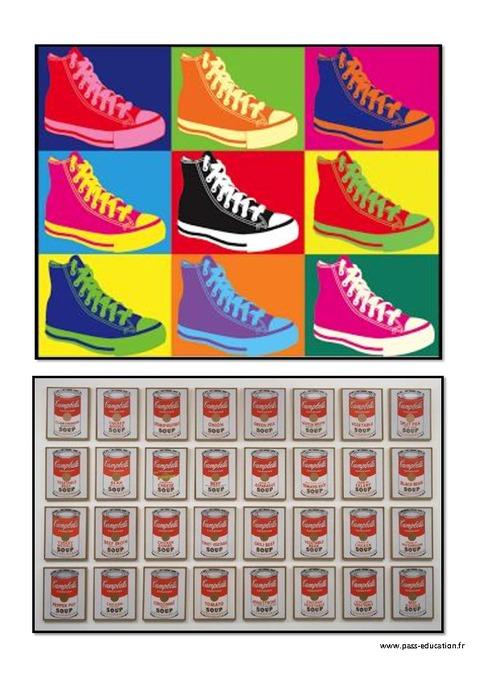 Bien connu Andy Warhol – Portraits - Ce1- Ce2 – Cm1 – Cm2 – Arts visuels  LM92
