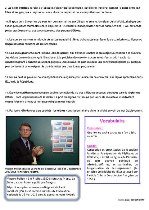 charte de la la u00efcit u00e9 - documents