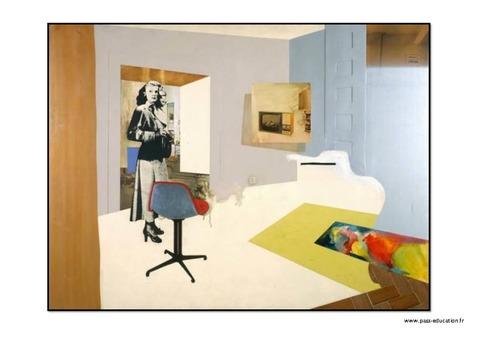 Assez A la manière de Hamilton - Pop Art – Ce1 - Ce2 – Cm1 – Cm2 – Arts  LM44