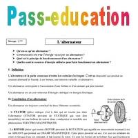 Collèges 3ème Alternateur Cours – Physique Chimie Tqxbshcdr Des Brevet Yv76gybf
