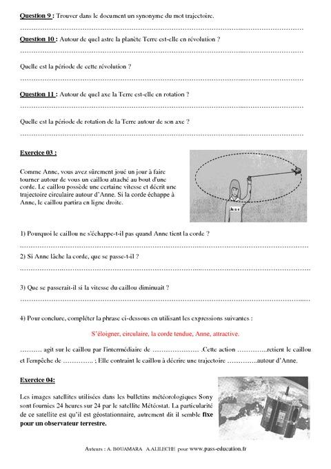 Cours de geophysique en pdf for 6eme planete