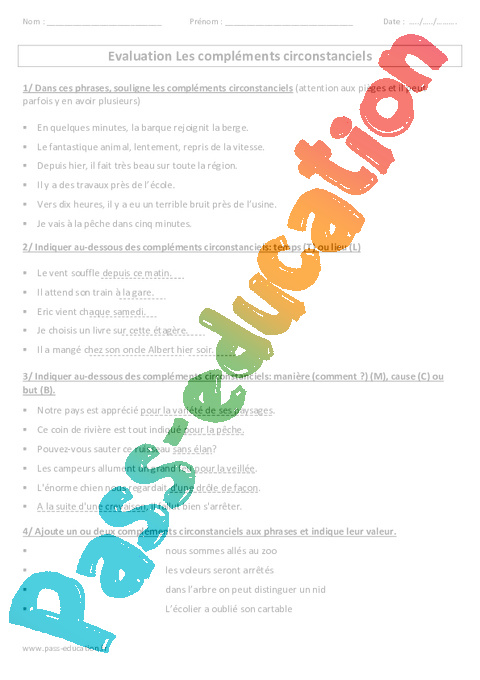 cod coi cod exercices cm2 pdf