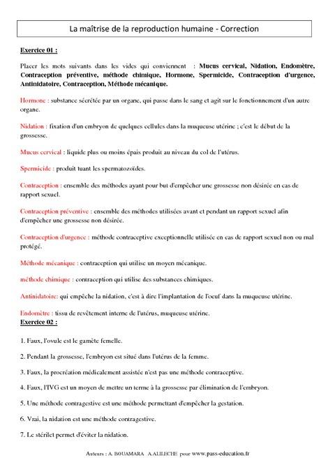 Cours francais d education sexuelle - 4 3