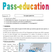 Pays Pauvres Cours 4eme Geographie Pass Education