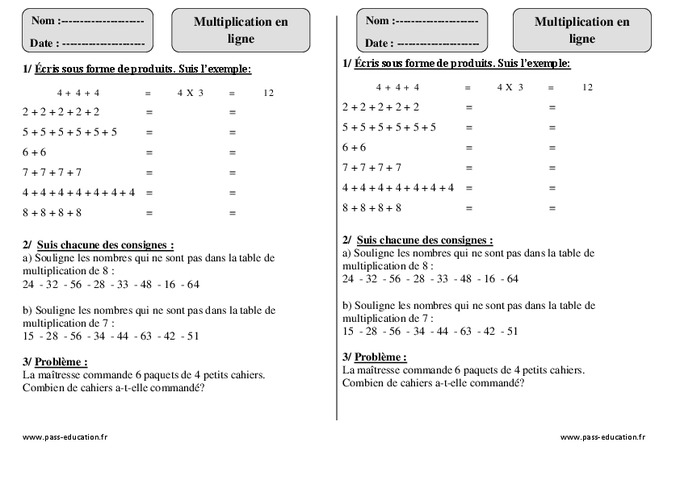 Search results for multiplicaton table calendar 2015 for Exercice de multiplication