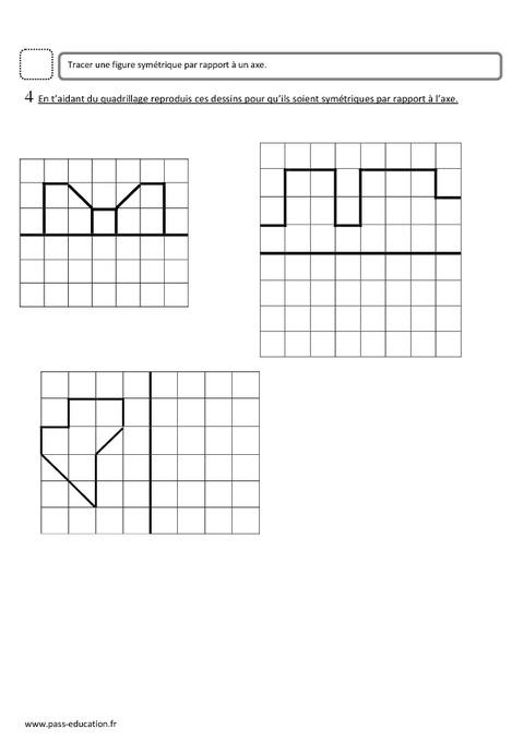 Sym trie ce2 evaluation pass education - Symetrie a imprimer ...