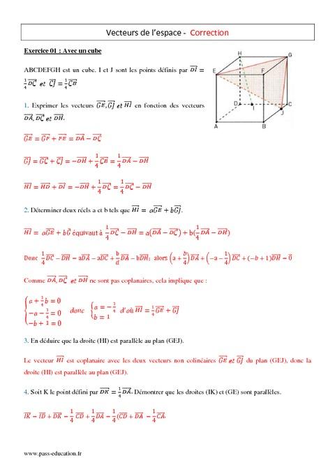 angles orientés exercices 1ère s