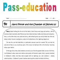 Harry Potter 4ème Lecture Compréhension En Anglais